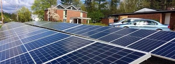 Solar Array at Concord UU